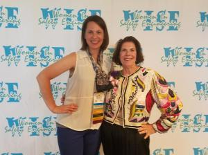 Abby Ferri and Fay Feeney at WISE Networking